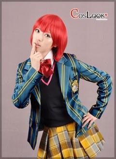 うたの☆プリンスさまっ♪ 七海春歌 早乙女学園女子制服 コスプレ衣装