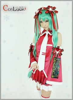 VOCALOID 初音ミク クリスマス コスプレ衣装
