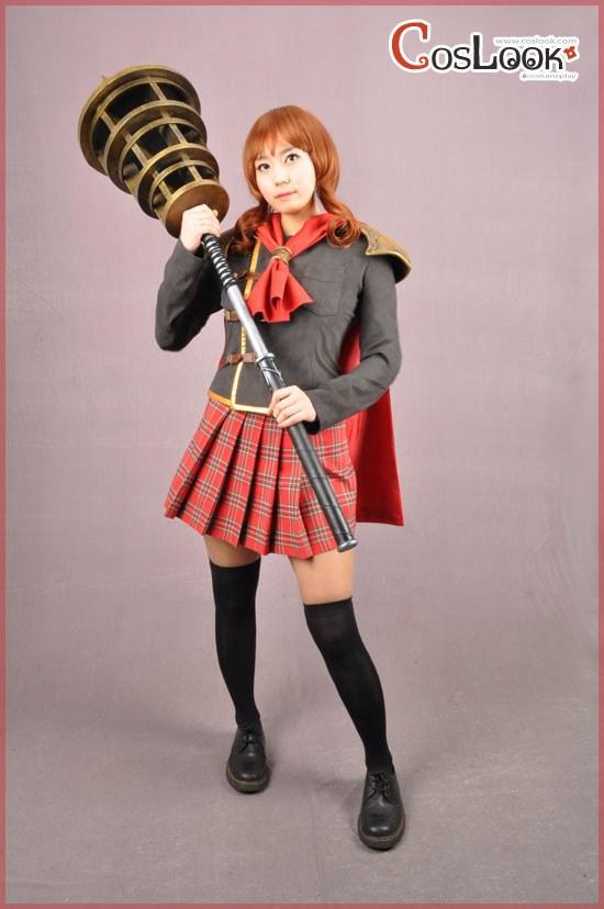 ファイナルファンタジー零式◆シンク◆女子制服◆コスプレ衣装