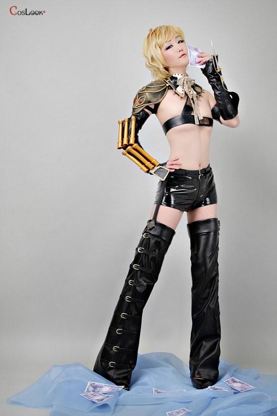 艶漢◆吉原安里◆戦闘服のコスプレ衣装