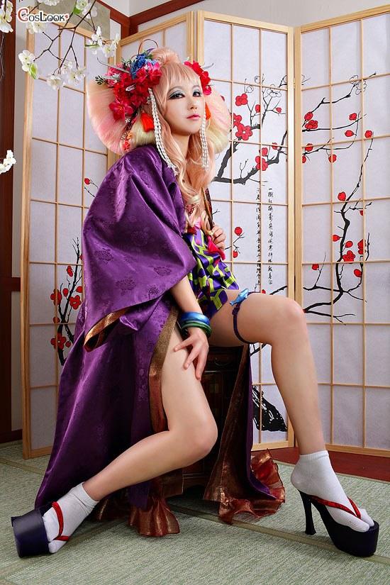 マクロスF  シェリル・ノーム 虚空歌姫 ギラサマ コスプレ衣装
