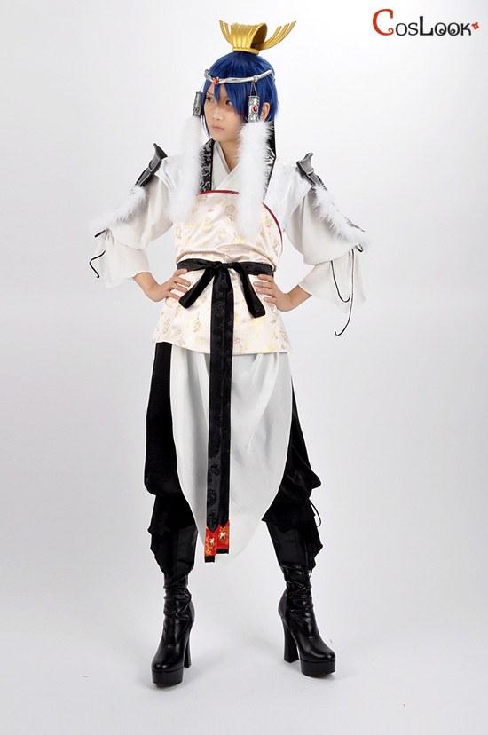 マギ 練白龍 戦闘服 コスプレ衣装