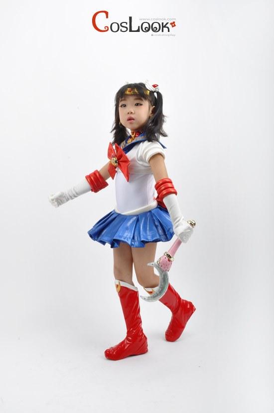セーラームーン 月野うさぎ クリスタル 子供用 コスプレ衣装