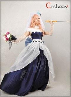 マクロスF シェリル・ノーム サヨナラノツバサ ウェディングドレス コスプレ衣装