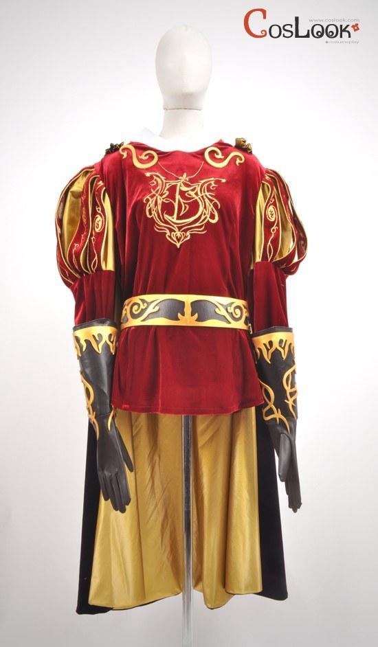 魔法にかけられて風 エドワード王子 コスプレ衣装