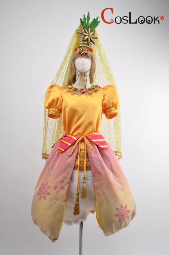 ディズニー風 テーブルイズウェイティング デイジー コスプレ衣装
