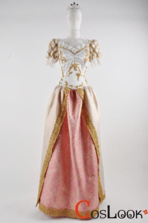 ラプンツェルのウェディング風 ウェディングドレス コスプレ衣装