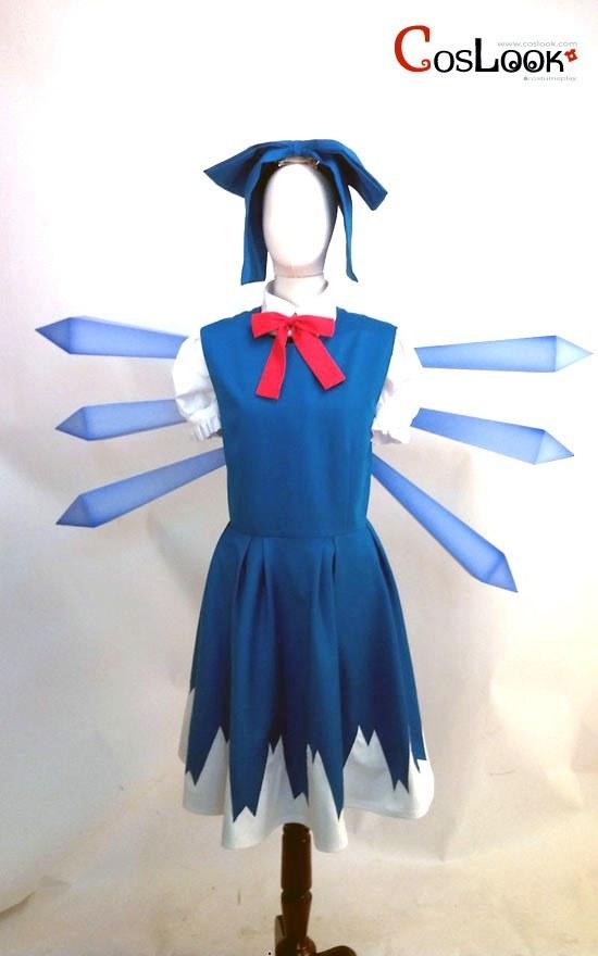 東方Project 東方紅魔郷 チルノ コスプレ衣装