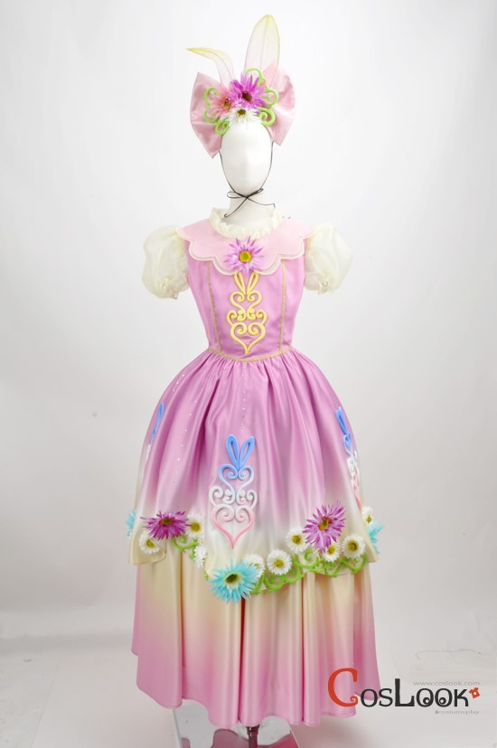 ディズニー風 ヒッピティ・ホッピティ・スプリングタイム2014 ミニーマウス コスプレ衣装