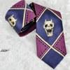 ジョジョの奇妙な冒険 吉良吉影 ネクタイ 紫 コスプレ小道具(送料無料)