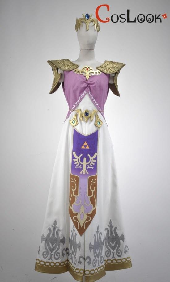 ゼルダの伝説 トワイライトプリンセス ゼルダ姫 オーダーメイドコスプレ衣装