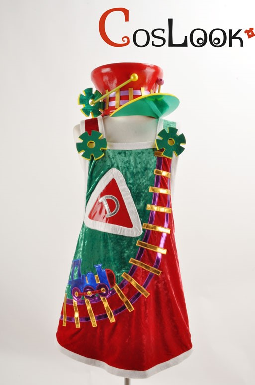 ディズニー風 サンタヴィレッジパレード デール オーダーメイドコスプレ衣装
