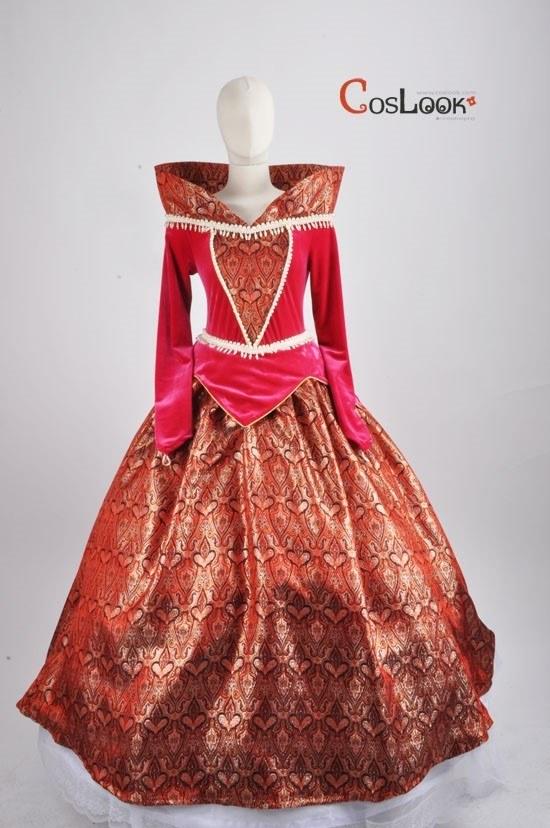 ディズニー風 眠れる森の美女 オーロラ姫 オーダーメイドコスプレ衣装