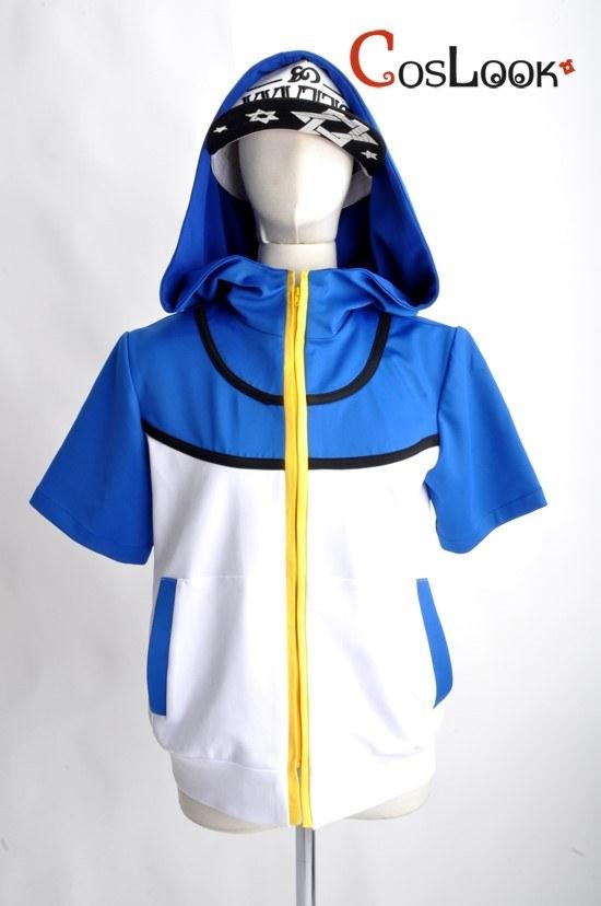 ポケットモンスター サトシ フードジャケット オーダーメイドコスプレ衣装