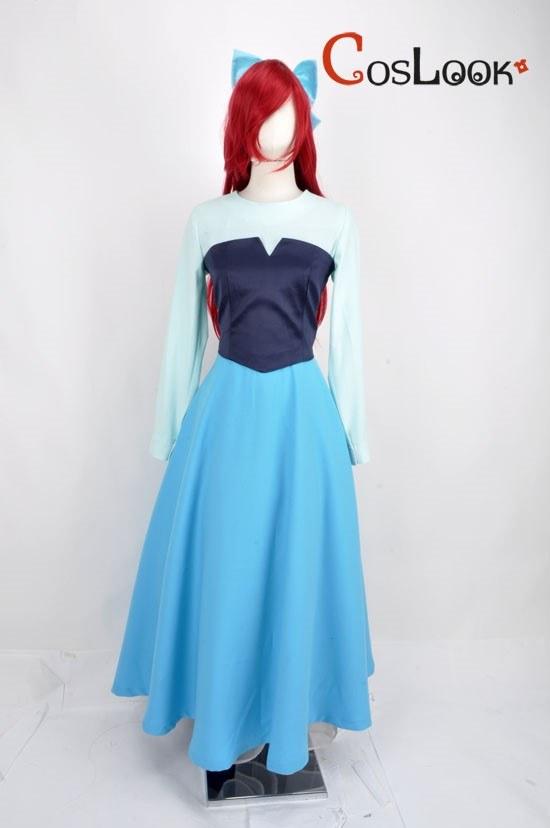ディズニー風 リトルマーメイド アリエル ドレス オーダーメイドコスプレ衣装