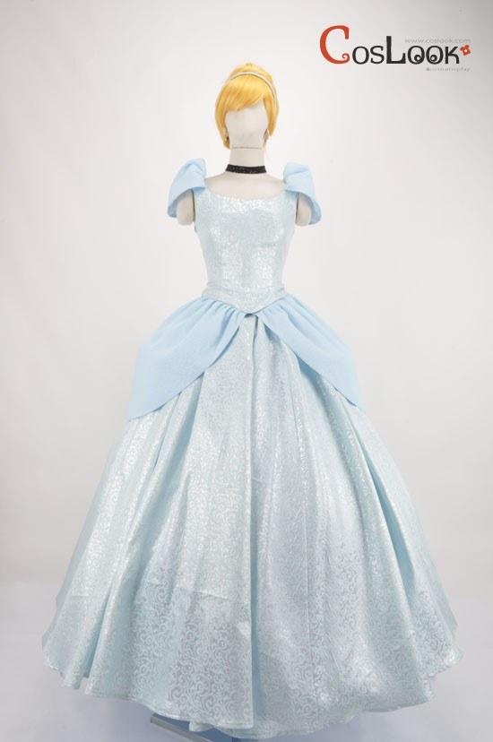 ディズニー風 シンデレラ ドレス オーダーメイドコスプレ衣装