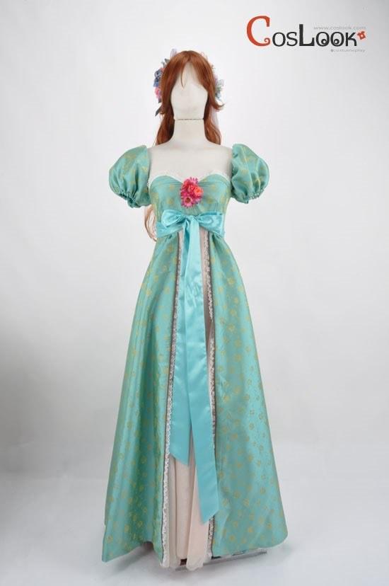 ディズニー風 魔法にかけられて ジゼル オーダーメイドコスプレ衣装
