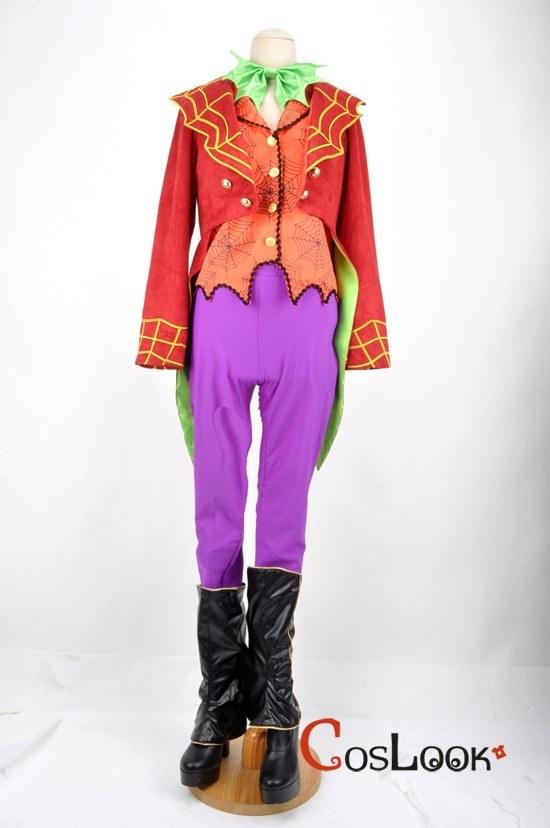 ディズニー風 ハロウィンパレード2010 蜘蛛執事 オーダーメイドコスプレ衣装