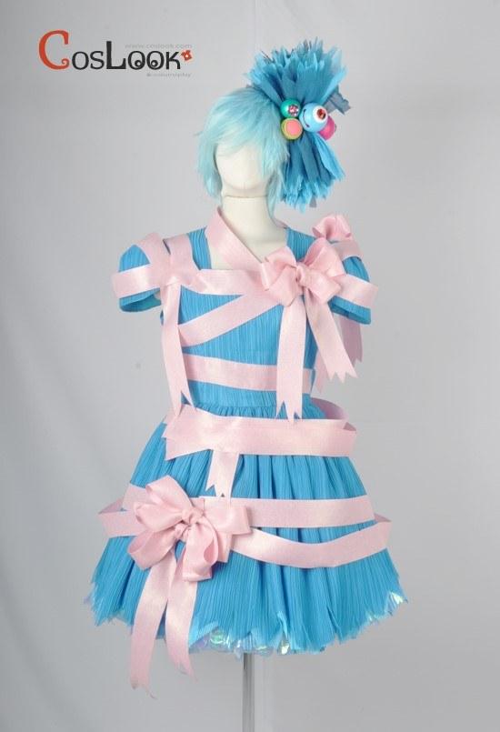 ディズニー風 ハロウィーンポップンライブ ダンサー オーダーメイドコスプレ衣装
