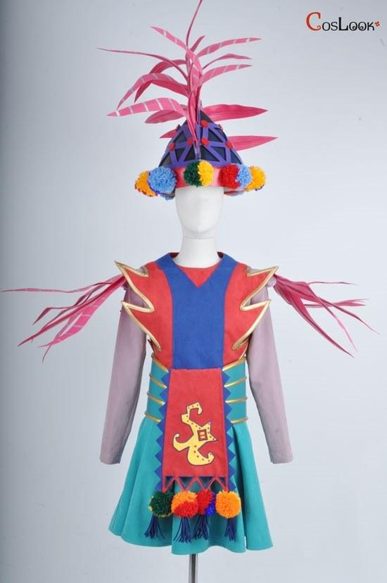 ディズニー風 ジュビレーション! ジラフダンサー 女性バージョン オーダーメイドコスプレ衣装
