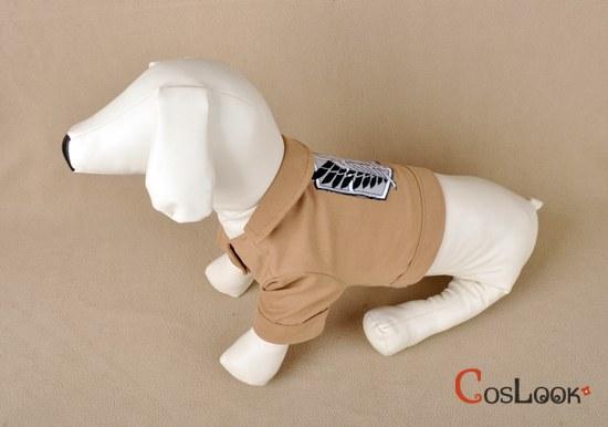 ペット服 犬服 進撃の巨人 ジャケット コスプレ衣装