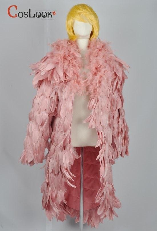 ワンピース ドフラミンゴ 羽コート オーダーメイドコスプレ衣装