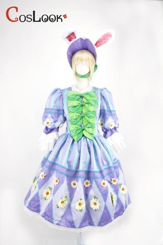 ディズニー風 イースターパレード2014 ヒッピティ・ホッピティ・スプリングタイム バニーダンサー オーダーメイドコスプレ衣装