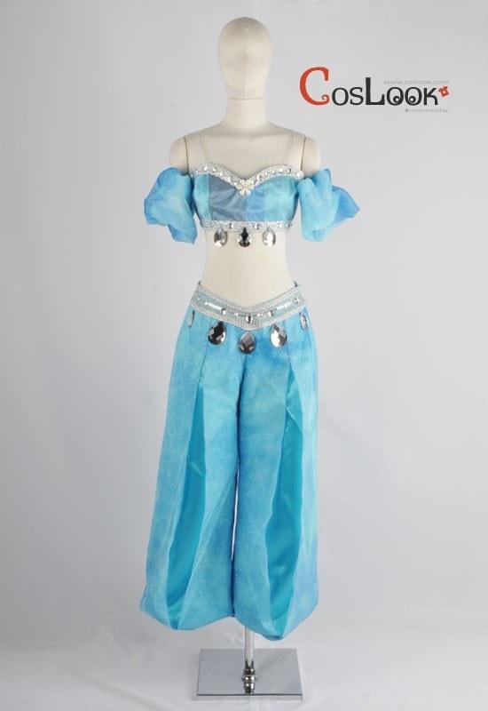 ディズニー風 アラジン ジャスミン オーダーメイドコスプレ衣装