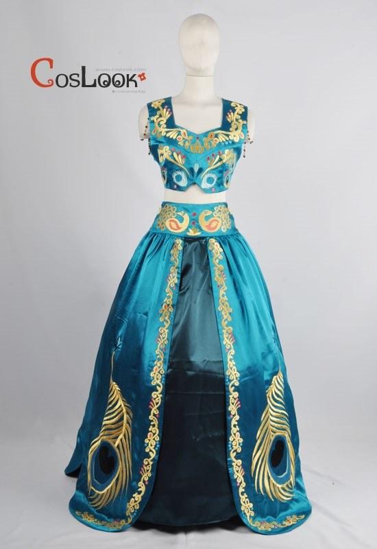 ディズニー風 アラジン フェアリーテイルコレクション ジャスミン オーダーメイドコスプレ衣装