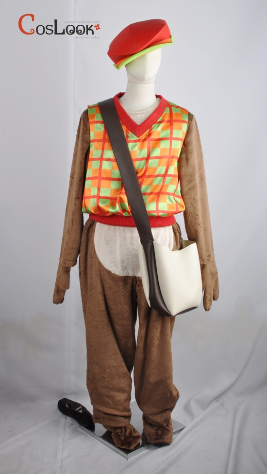 ディズニー風 チップとデール オーダーメイドコスプレ衣装